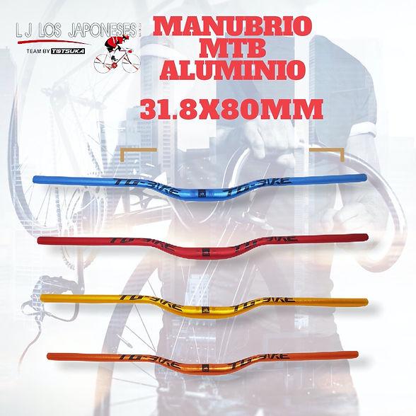 mtb aluminio