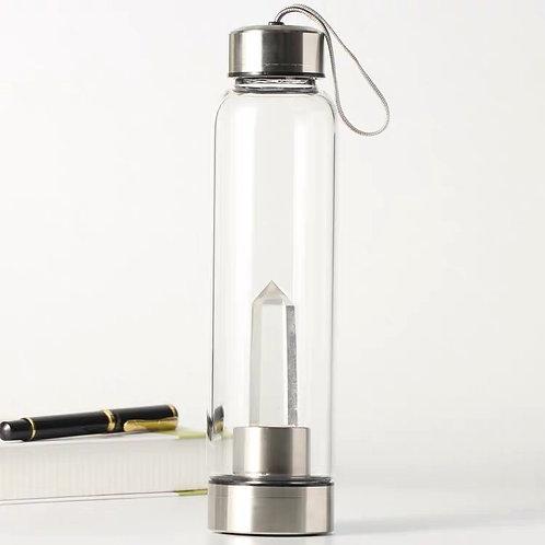 Clear Quartz Bottle