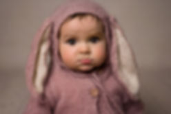 children and newborn studio portraits