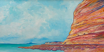 Long Bay - Bryce Brown $2,600 oil on can
