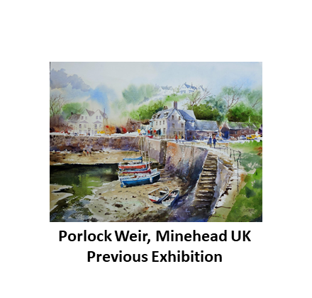 Porlock Weir, Minehead, UK Previous Exhi