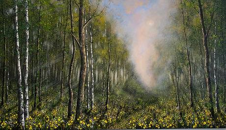 Daffodils in Spring - 140 x 80 $5250.jpg