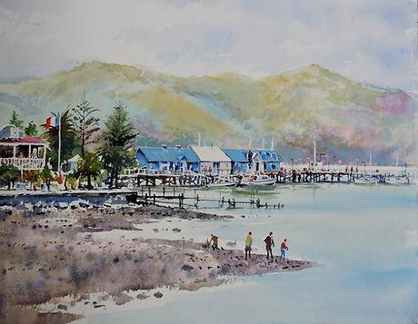 J K Reed #14 Akaroa Wharf.jpg