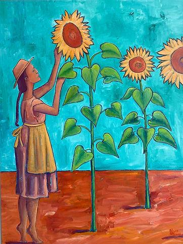Sunflowers High Res Sunflowers - Bryce B