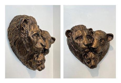 Bronze Jesmonite Lion Family cropped.jpg