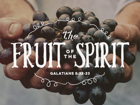 The World Needs the Fruit of the Spirit