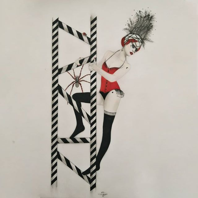 Little circus... n°3 The acrobat →🕷🐞