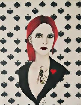 Miss pique au... Coeur rouge (sold out)