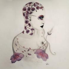 ...Ink.blooming