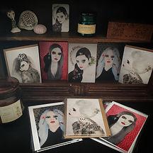 cartes postales lallia art