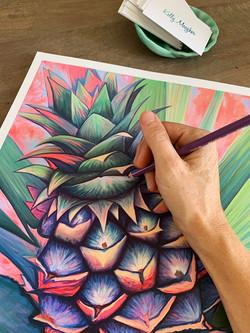 Pina embellishing