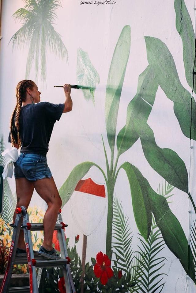 Island West mural