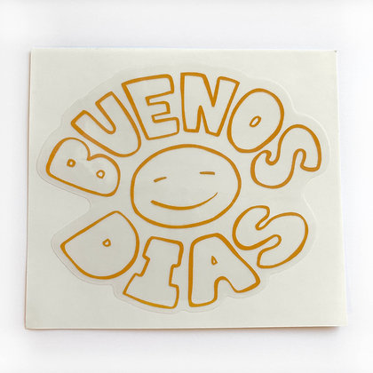 Buenos Dias Sticker