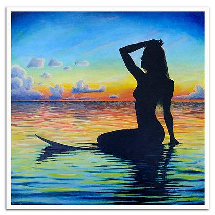 Wave Goddess print