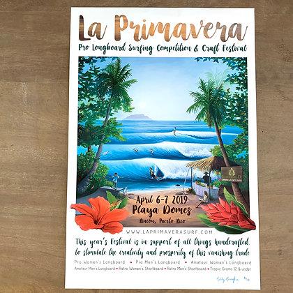 Limited Edition La Primavera Poster