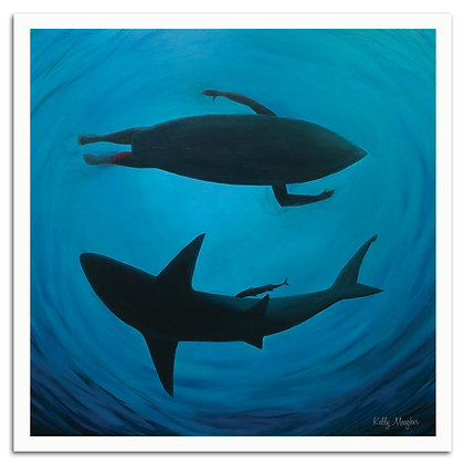 Shark Bait print