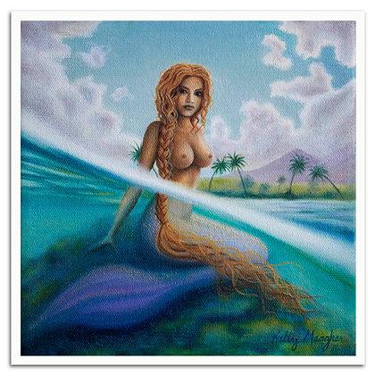 La Sirena de Rincón print