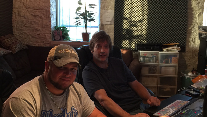 randy Woody with his Producer Ken Royster