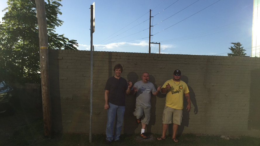 Ken Roster, Bryan Wayne Perry, and Randy