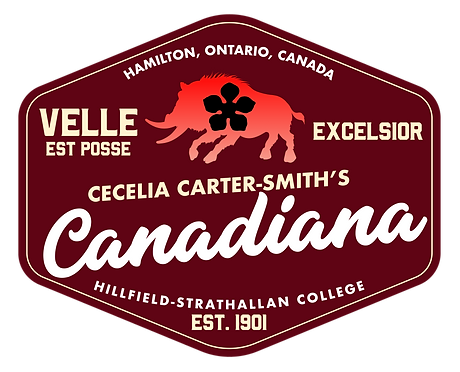 Cecelia Carter Smith's Canadiana
