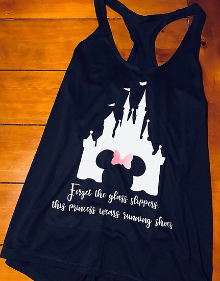 Disney Castle Running shirts