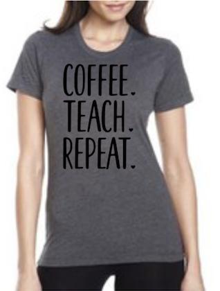 Coffee. Teach. Repeat