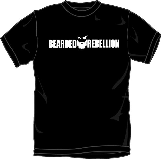 Bearded Rebellion NEW Logo Tee