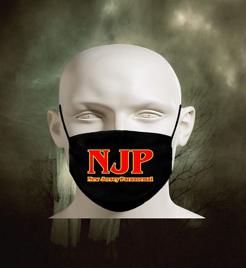 New Jersey Paranormal Face Mask