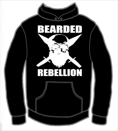Bearded Rebellion Hoodie