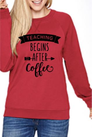 Teaching Begins After Coffee
