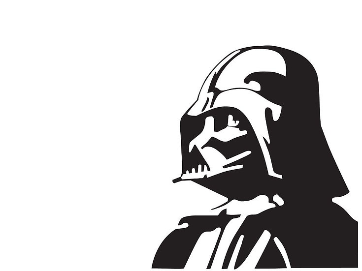Darth Vader 5x5 Decal