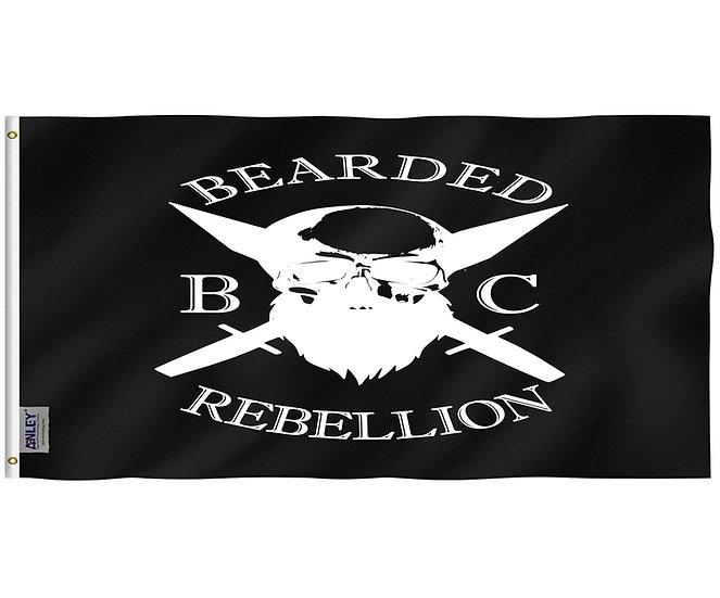 Bearded Rebellion Flag 3x5