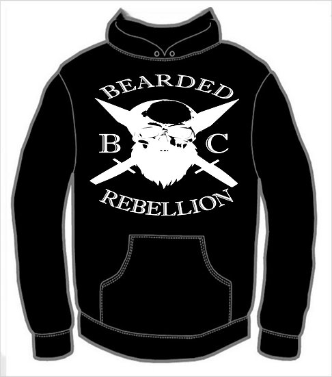 Bearded Rebellion Hoodie