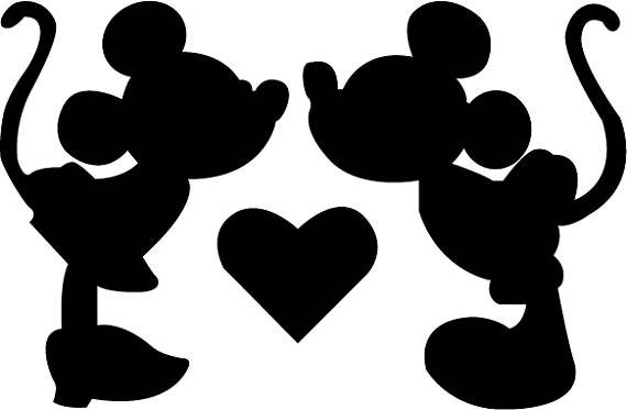 Mickey and Minnie Wall Art
