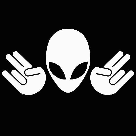 Alien Shocker Decal