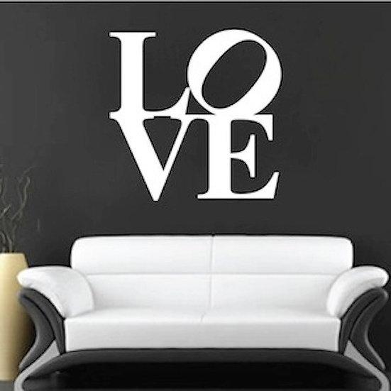 """Love"" Wall Vinyl Decoration"