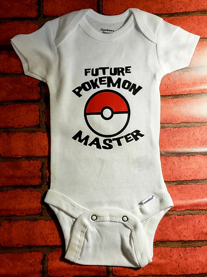 Future Pokémon Master Onesie