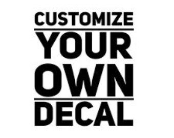 Custom 5 x 5 Vinyl Decal