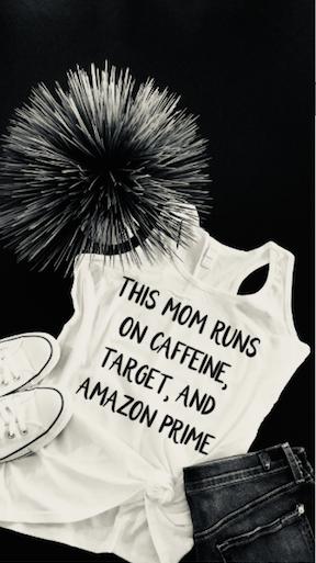 Caffeine, Target, Amazon Prime