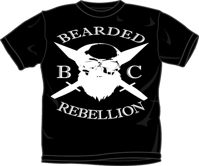 Bearded Rebellion Tee