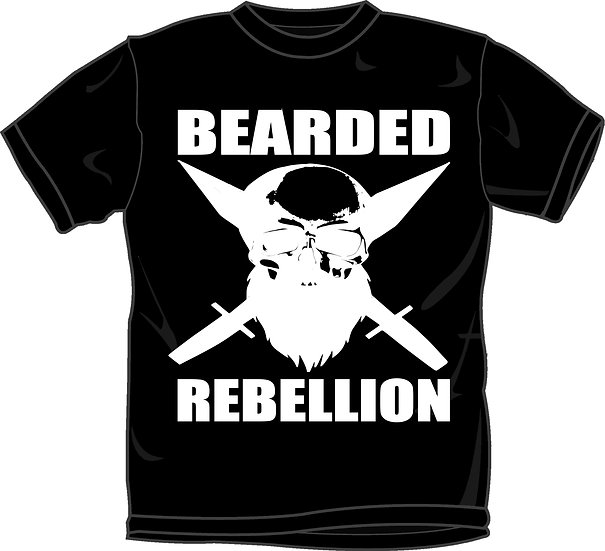 Bearded Rebellion Tee