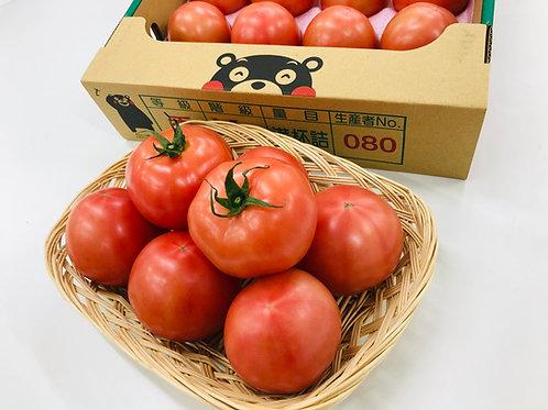 【熊本産】トマト 1ケース(23~24玉) 約4kg