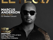 MARCUS ANDERSON CD RELEASE CONCERT SET FOR TONIGHT!