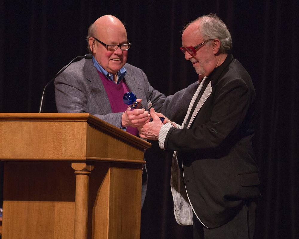 Bob James receives award