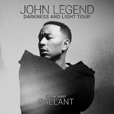 JOHN LEGEND ANNOUNCES TOUR