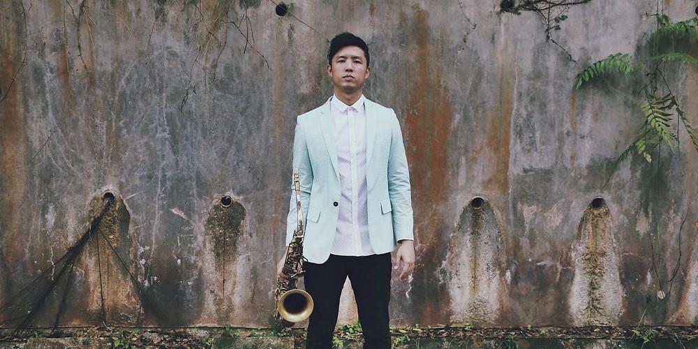 Saxophonist Daniel Chia
