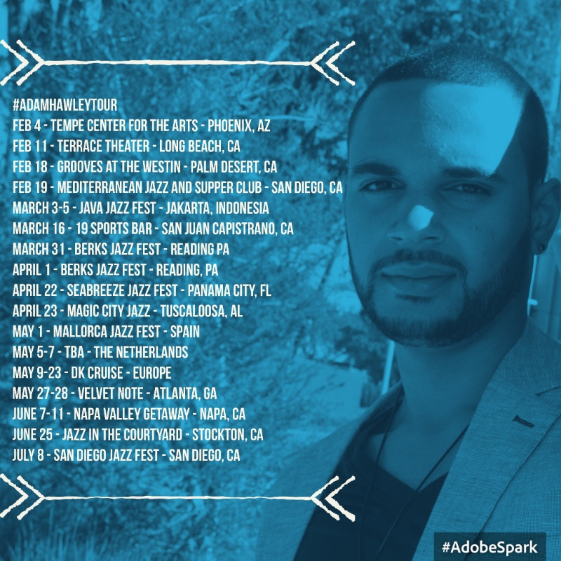 ADAM HAWLEY TOUR