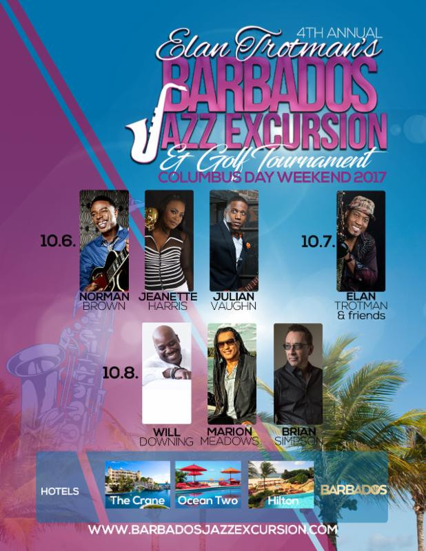 Elan Trotman's Barbados Jazz Excursion
