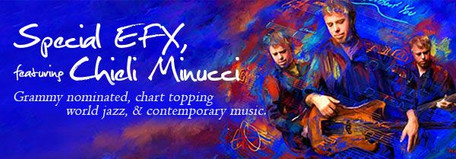 June 19th In-Person & Streamed Concert: Special EFX Featuring Chieli Minucci