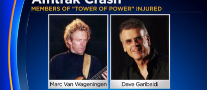 TOWER OF POWER BAND MEMBERS HIT BY TRAIN IN OAKLAND
